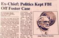 Article by Christopher Ruddy on Vince Foster