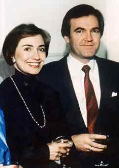 Hillary Clinton and Vincent Foster